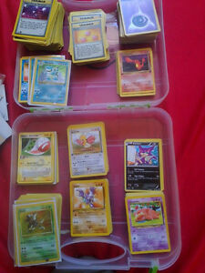 1999 + (2005,2012) Pokemon Trading cards (60$ must go today)