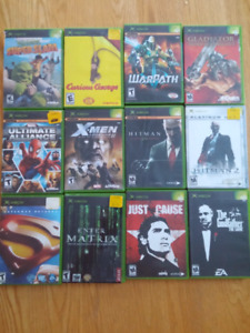 Xbox games (original xbox only)