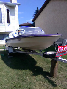 For sale 1985 speed boat