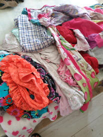 Bundle of girls 8/9 clothes, swim stuff and night clothes