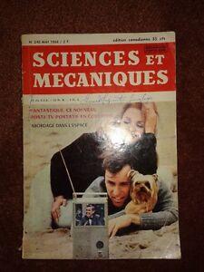 Magazines Sciences et Mécaniques de 1966