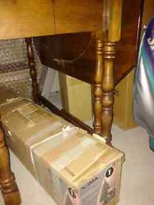 Antique Wood Table with Gable Legs Moose Jaw Regina Area image 2