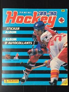 Panini 1989-1990 Hockey Sticker Album