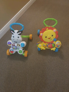 Two Fisher Price Walkers