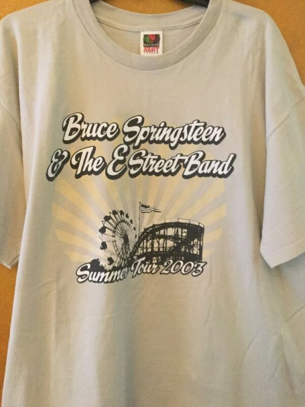 Bruce Springsteen & E Street Band Concert Tour Shirt 8/31/03 Giant Stadium 2X