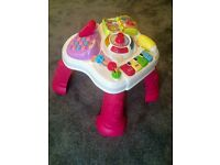 VTech Learning Activity Table RRP £24.99 Girl