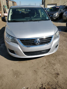 2010 VOLKSWAGEN ROUTAN LOW KM MINIVAN, SAFETIED FOR $5995+HST!!!
