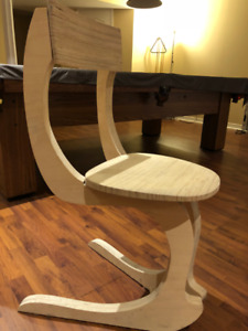 FS: Accent Chair Solid Wood - classy custom made