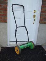 "Nice working E-Z Cut 14"" Rotary REEL Push Mower,lawnmower"
