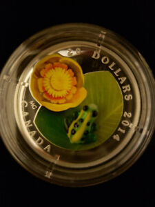 $20 Venetian Glass Frog coin - Royal Canadian Mint