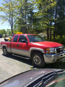2007 Sierra 1500 4x4 with Fisher X blade plow, 06 Suzuki ltz 400
