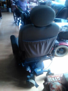 Pride jazzy powered wheel chair