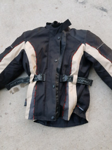 Childs XL motorcycle jacket with liner