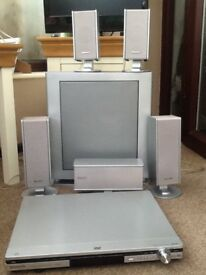 Panasonic surround sound home theatre system