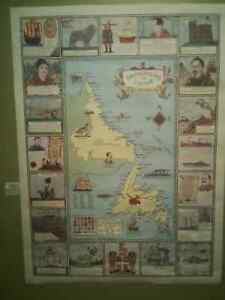 Map Commemorating the 500 Anniversary of John Cabot to NL