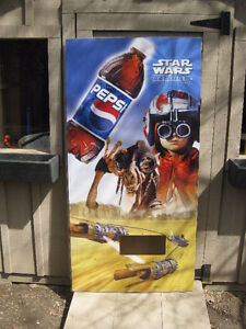 Attention Star Wars / Pepsi Fans Acrylic Sign