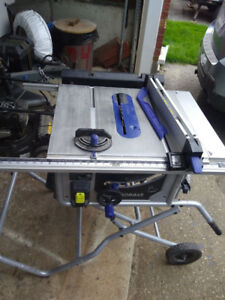 Kobalt portable table saw  10 inch kt1015