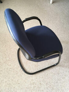 Blue Office Chairs for Waiting Room or meetings