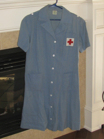 World War 2, American Red Cross Ladies Uniform