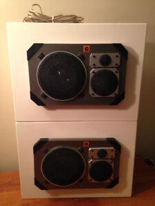 Haut-parleurs Clarion custom-made speaker boxes
