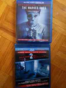 Paranormal activity 1 and 2 for 5 dollars