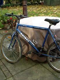 Bicycle. Shimano 18 gear Bike