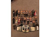 20 x WWE wrestlers