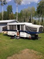 2006 fleet wood tent trailer