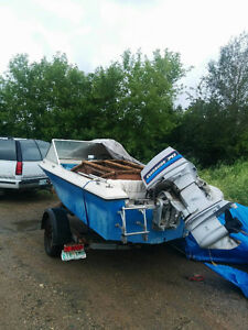 Edson Explored Boat and Trailer $3250.0 OBO