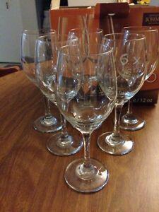 Set of 6 wine glasses Kitchener / Waterloo Kitchener Area image 2