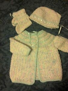 Hand-knitted Infant Sweater