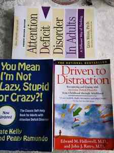 3 best selling ADD books  attention deficit disorder