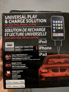 iPod universalcar play and charger