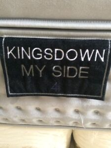 King Size Bed and Boxspring