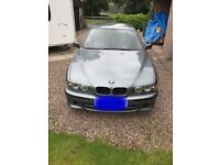 Bmw e39 525i sport 5 series with fsh and very low mileage. Not Mercedes, Audi, Lexus or jaguar
