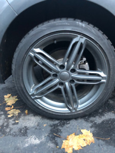 Audi Winter Rims and Tires