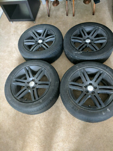 """Blacked out 18"""" Rims"""