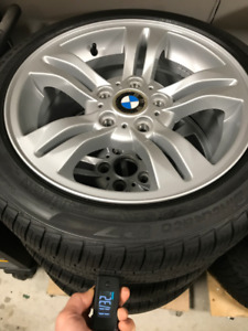 bmw all season tires and rims 17''