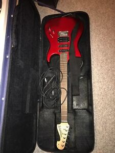 ELECTRIC GUITAR WITH AMP AND CASE  London Ontario image 1