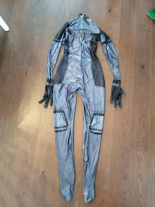 Deadpool X-Force Zentai Suit & Mask Faceshell Costume