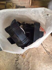 Bag of guttering items