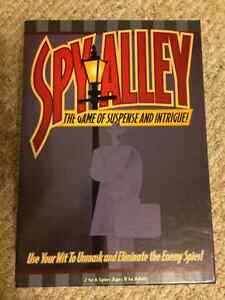 Board Games: Spy Alley and Simply Suspects