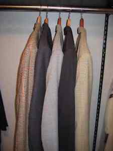 Jeans,dress pants,suit, sports jackets, sport shirts & sweaters