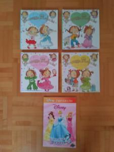 Princesse, cherche et trouve, Disney, Caillou, à colorié etc