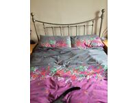 Double Metal Bed £30