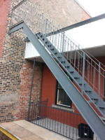 soudure mobile,escalier,rampe; balcon; reparation; fabrication