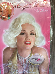 Blonde Marilyn Munroe Wig. Excellent Condition
