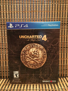 Uncharted 4: A Thief's End - Special Edition (PS4, 2016)+DLC