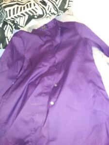 Red and purple theory dress shirts
