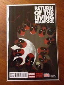 Return of the Living Deadpool - Issue #1